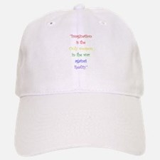Imagination Against Reality Baseball Baseball Baseball Cap