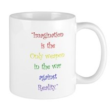 Imagination Against Reality Mugs