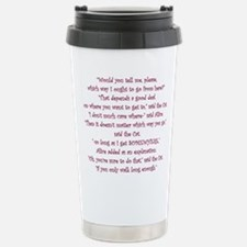 It Doesnt Matter Which Way You Go Travel Mug