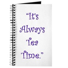 Its Always Tea Time Journal