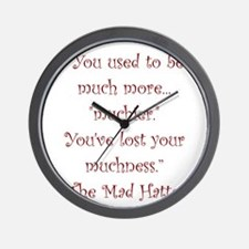 Much More Muchier Wall Clock