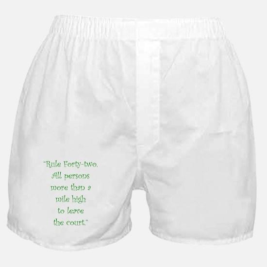Rule 42 Boxer Shorts