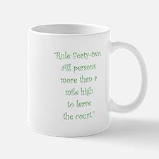Rule 42 Mugs