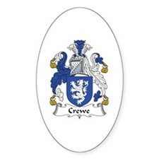 Crewe Oval Decal