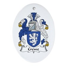 Crewe Oval Ornament