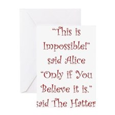 This is impossible! Greeting Cards