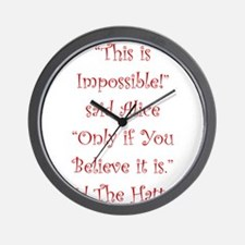 This is impossible! Wall Clock