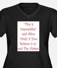 This is impossible! Plus Size T-Shirt