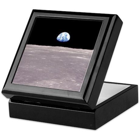 Apollo 11 Earth rise Keepsake Box Astronomy gifts