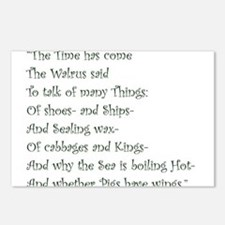 The Time Has Come The Walrus Said Postcards (Packa