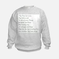 The Time Has Come The Walrus Said Sweatshirt