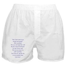 Were All Mad Here! Boxer Shorts
