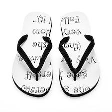 Very Good Advice Flip Flops
