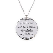 Very Good Advice Necklace