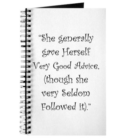 Very Good Advice Journal