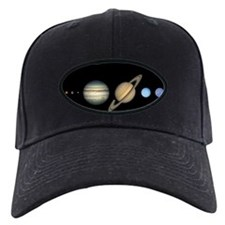 Scale Solar System Baseball Hat astronomy hat gifts
