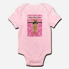 Hang In There Baby Kitten Infant Bodysuit