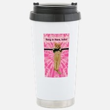 Hang In There Baby Kitt Thermos Mug