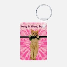 Hang In There Baby Kitten Keychains