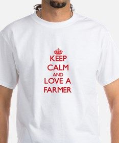 Keep Calm and Love a Farmer T-Shirt