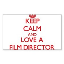 Keep Calm and Love a Film Director Decal