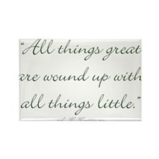 All things great are wound up with all things litt