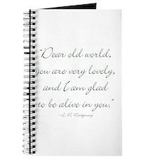 Dear old world Journal