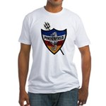 USS PORTERFIELD Fitted T-Shirt
