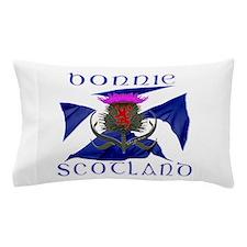 Bonnie Scotland Flag Design Pillow Case