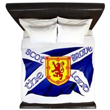 Scotland The Brave Flag King Duvet