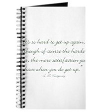 Its so hard to get up again Journal