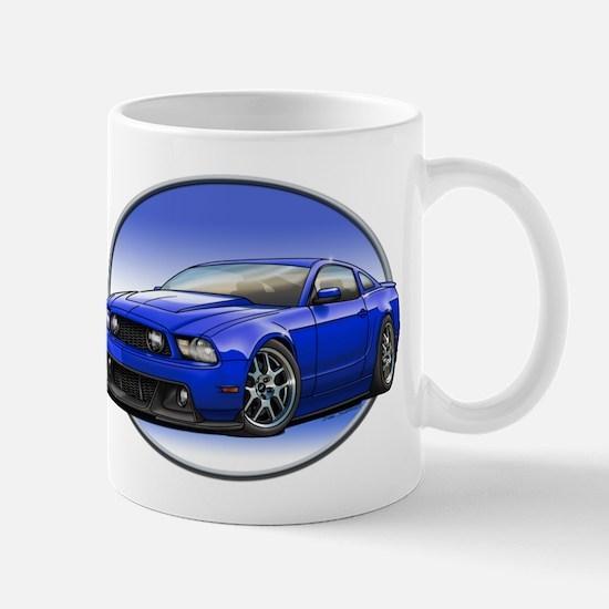 GT Stang Blue Mugs