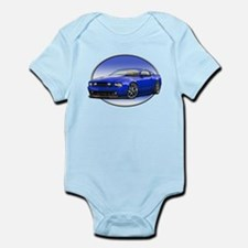 GT Stang Blue Body Suit