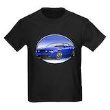 Mustang car Kids T-shirts (Dark)