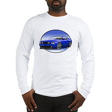 GT Stang Blue Long Sleeve T-Shirt
