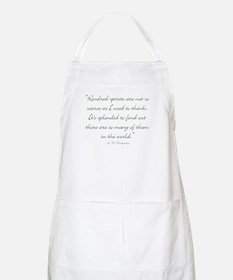 Kindred Spirits are not scarce Apron