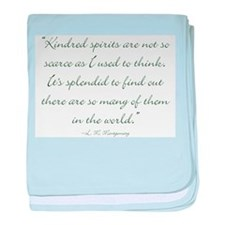 Kindred Spirits are not scarce baby blanket