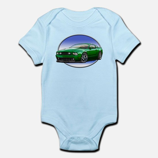 GT Stang Green Body Suit