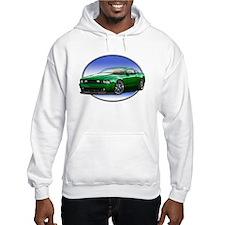 GT Stang Green Hoodie