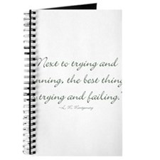 The best thing is trying and failing Journal