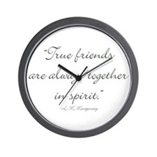 True friends are always together in spirit Wall Cl