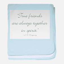 True friends are always together in spirit baby bl