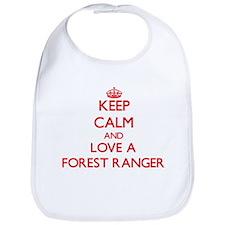 Keep Calm and Love a Forest Ranger Bib