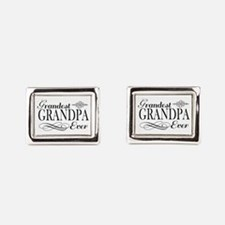 Grandest Grandpa Ever Rectangular Cufflinks