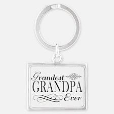 Grandest Grandpa Ever Keychains