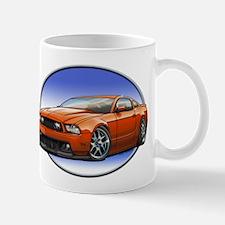 GT Stang Orange Mugs
