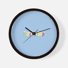 Kristina Spring14 Wall Clock