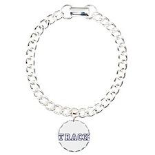 Track Athletic Blue Bracelet