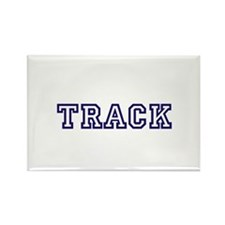 Track Athletic Blue Magnets