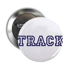 "Track Athletic Blue 2.25"" Button"